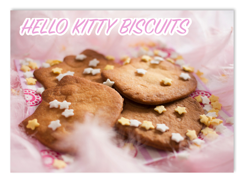 Recette Biscuits Hello Kitty à la Vanille