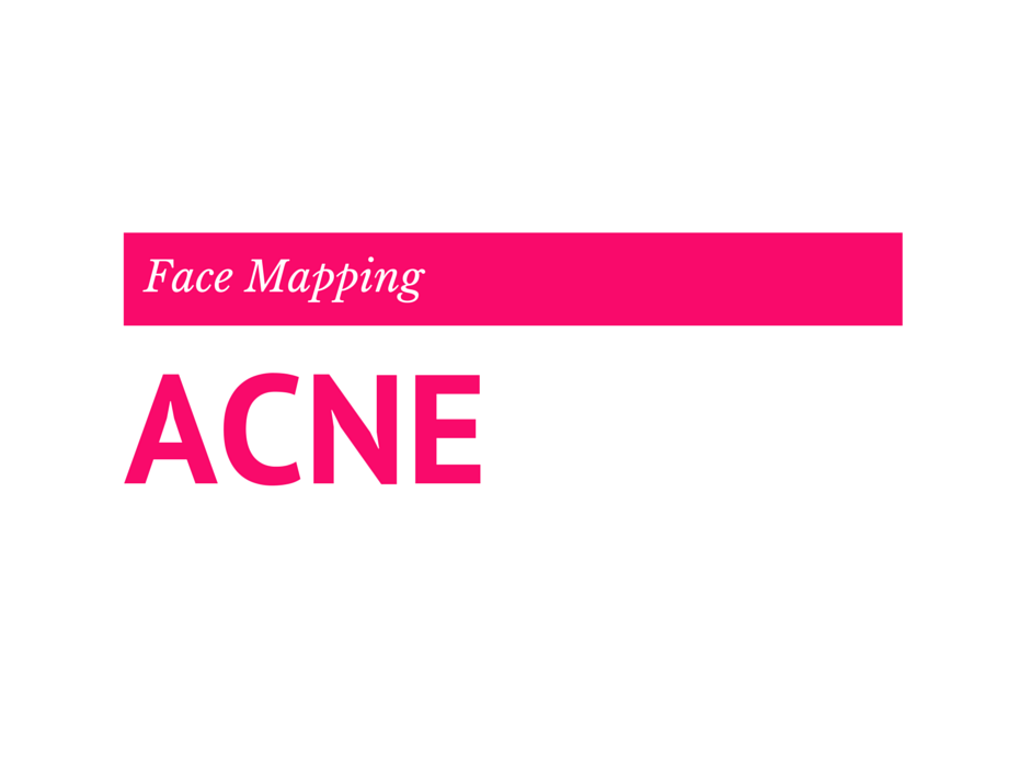 Face Mapping  ou comprendre comment vaincre l'acné