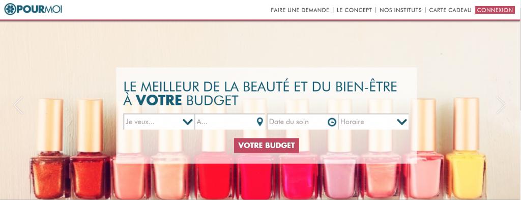 Le site pourmoi.fr, la beauté qui s'adapte à votre budget