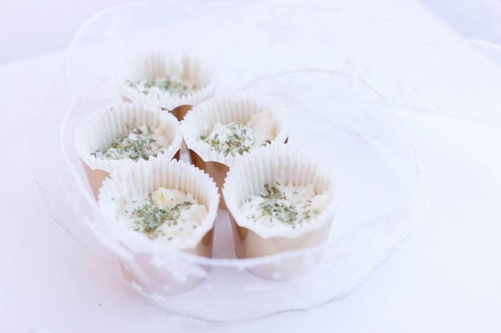 Recette verrines de crème de cantal et tapioca