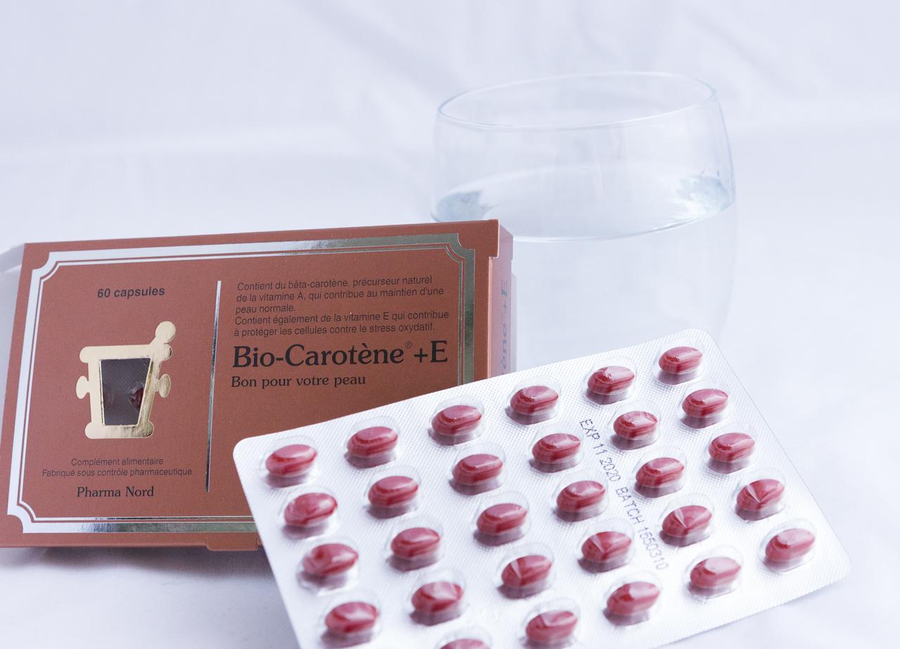 bronzage pharmanord complément alimentaire préparer peau carotène bronzer conseils blog