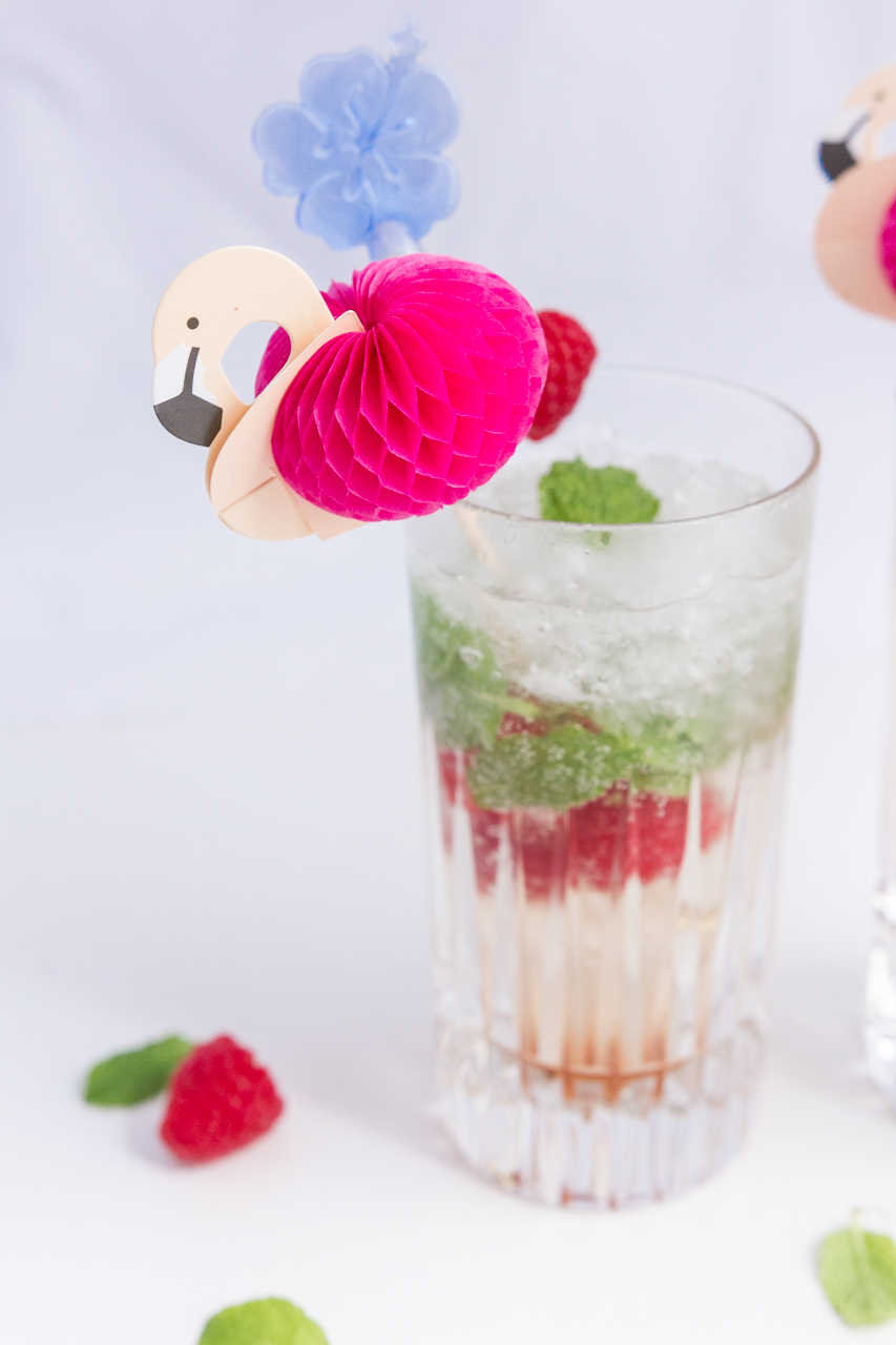 mojito framboise cocktail recette recipe ingrédients