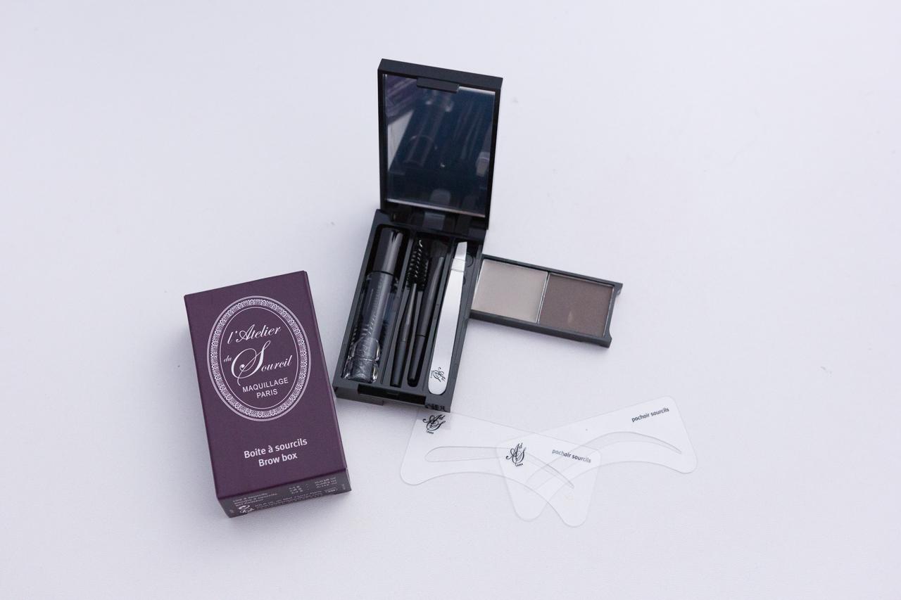 tops flops juin eugène perma ioma cinq mondes grace your face l'atelier du sourcil lush l'oréal