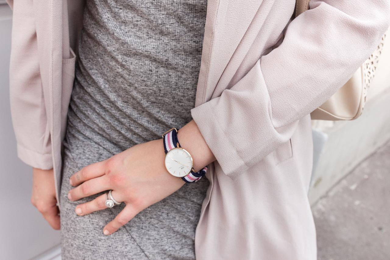 look blog blogueuse mode outfit fashion jupe portefeuille haut lacé daniel wellington missguided primark h&m justfab summer été