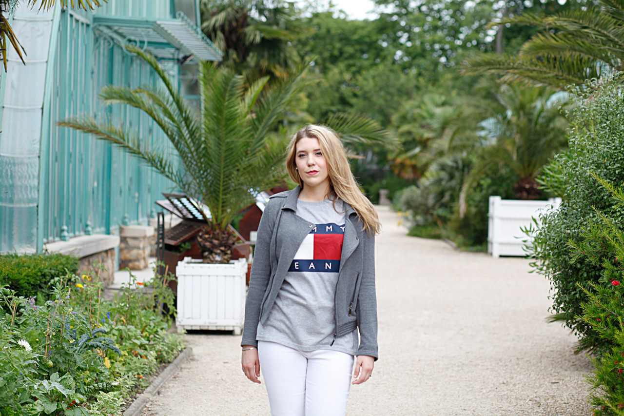 look mode fashion blog mode tommy jeans t-shirt hilfiger blogueuse style adidas missguided