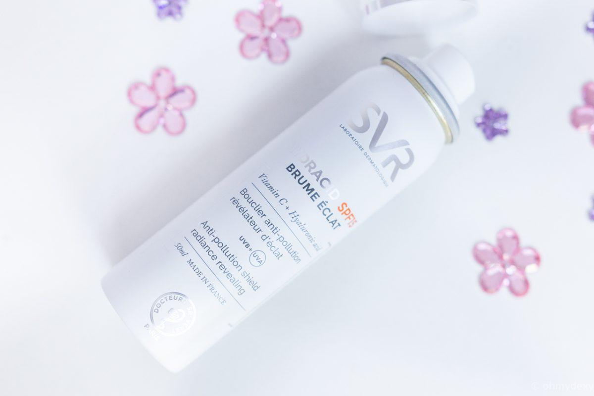 svr hydracid brume anti uv anti pollution soin peau protection spf 15 blog avis revue