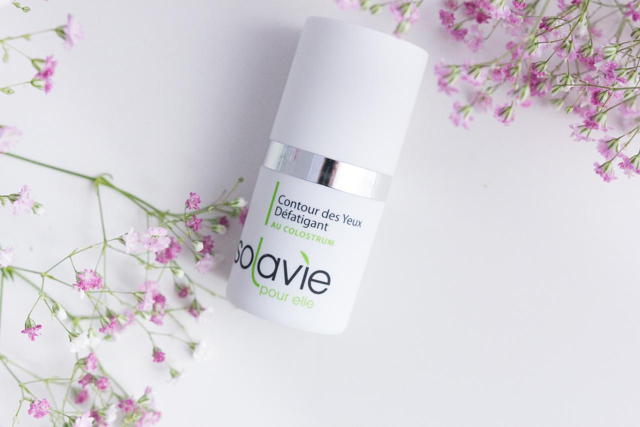 solavie produits peau colostrum naturels soin crème hydratant sérum monaco blog test avis revue