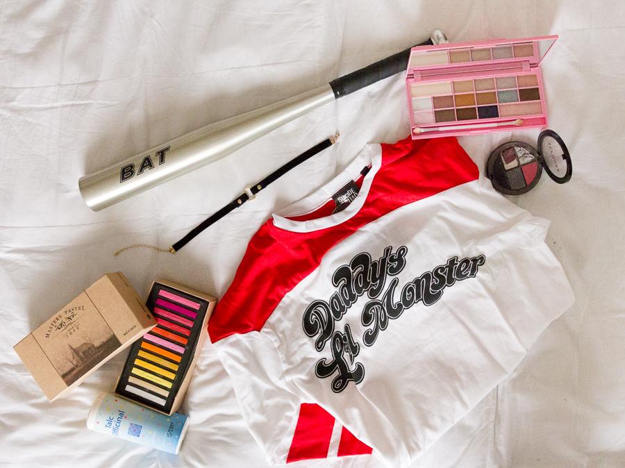 harley quinn tuto makeup halloween maquillage blog blogueuse deguisement cosplay