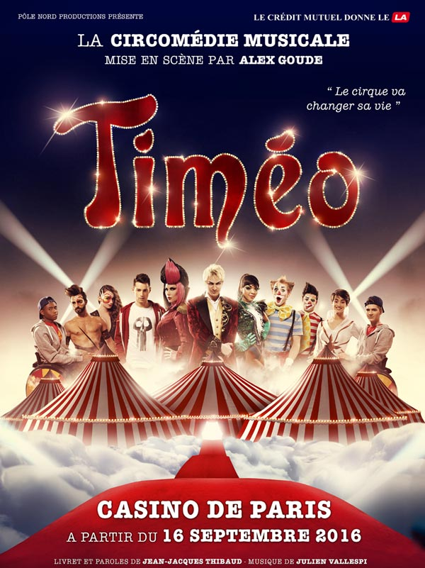 timeo circomedie musicale spectacle avis revue blog