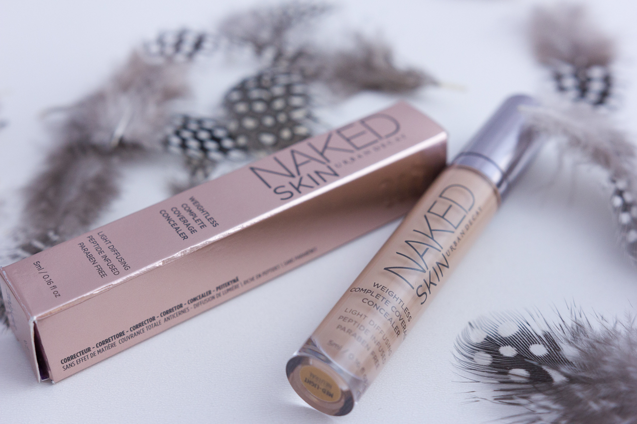 naked skin urban decay anticernes makeup maquillage blog avis revue