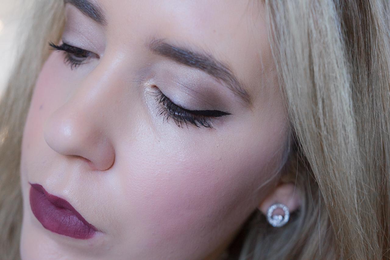 smoky eye fetes maquillage makeup idée inspiration blog palette smokey nutrimetics