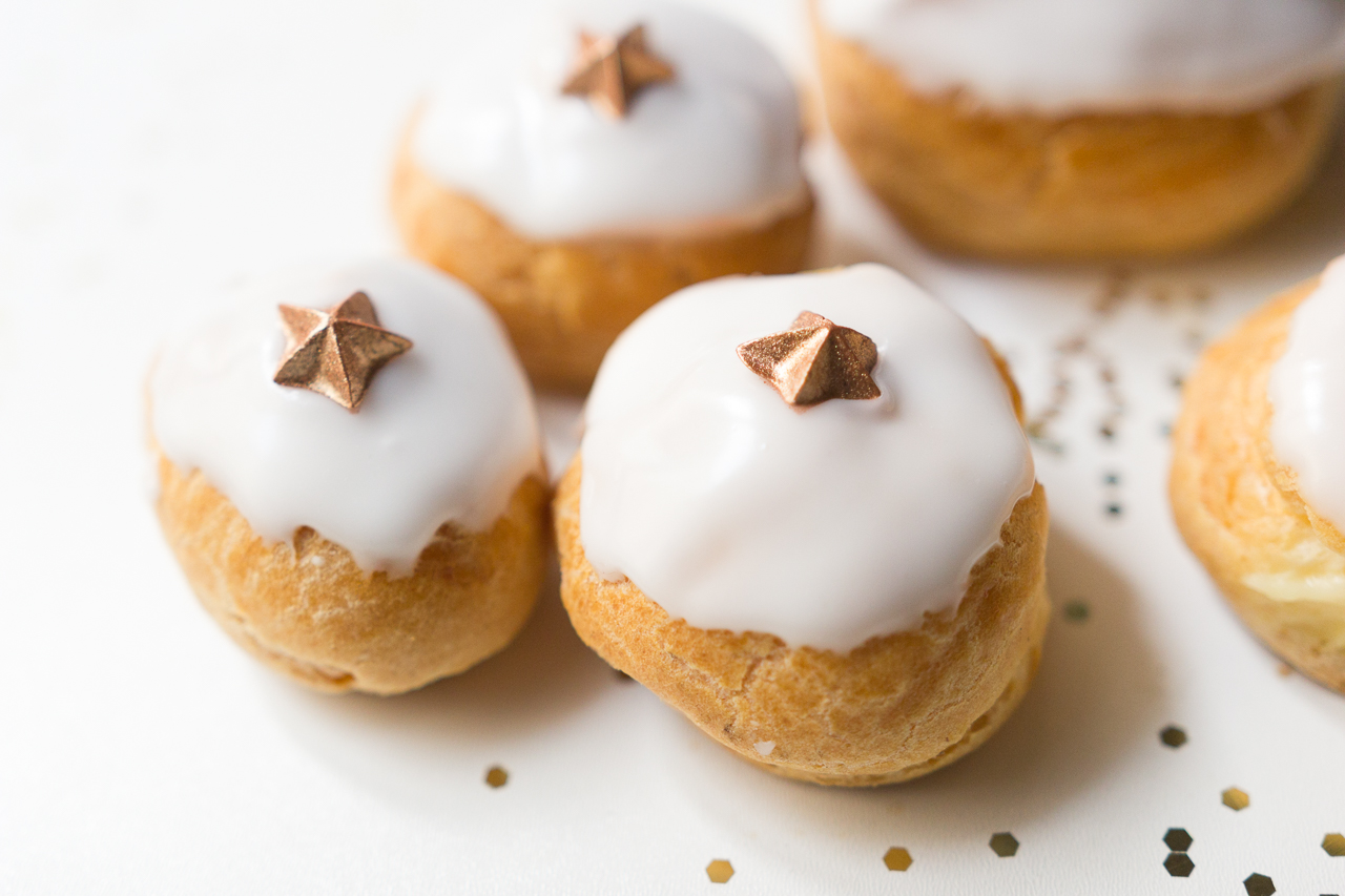 Recette petits choux vanille miel