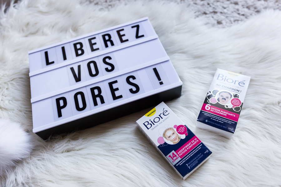 Les patchs purifiants Bioré : bye bye les imperfections ?